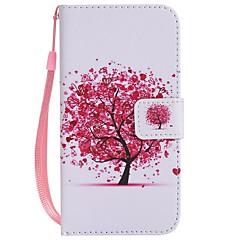 Недорогие Кейсы для iPhone X-Назначение iPhone X iPhone 8 iPhone 8 Plus Чехлы панели Кошелек Бумажник для карт со стендом Флип С узором Чехол Кейс для дерево Твердый