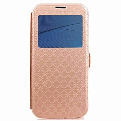 Case for Motorola G5 Plus G5 Cover Card Holder Wallet Flip Magnetic Pattern Ling Plaid Hard PU Leather with Window Case