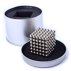 Mıknatıslı Oyuncaklar Manyetik Toplar Stres Gidericiler 216 Parçalar 5mm Oyuncaklar Manyetik Dikdörtgen Hediye