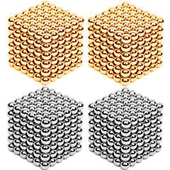 halpa -Magneettilelut Super Strong harvinaisten maametallien Magneetit magneettipallojen Lievittää stressiä 216*4 Pieces 3mm Lelut Metalli
