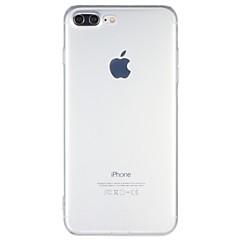 Недорогие Кейсы для iPhone 7 Plus-Кейс для Назначение iPhone 7 Plus IPhone 7 Apple iPhone 7 Plus iPhone 7 Защита от удара Кейс на заднюю панель Прозрачный Мягкий ТПУ для
