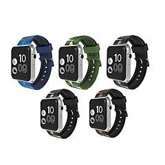 billige Apple Watch-tilbehør-Klokkerem til Apple Watch Series 3 / 2 / 1 Apple Sportsrem Silikon Håndleddsrem