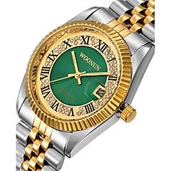 cheap Bracelet Watches-Men's Women's Fashion Watch Simulated Diamond Watch Pave Watch Japanese Quartz Calendar / date / day Water Resistant / Water Proof Punk