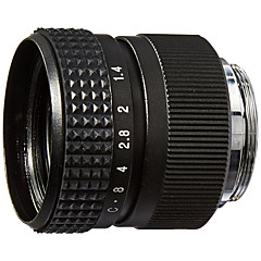 M2514 25MM F1.4 TV Movie Lens and Lens Adapter Kit for Olympus Panasonic MFT Micro 4/3 M43 Cameras