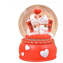 Labdák Zenedoboz Játékok Körkörös Kacsa Kristály Darabok Uniszex Születésnap Valentin nap Ajándék