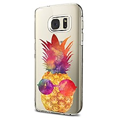 Etui Til Samsung Galaxy S8 Plus S8 Transparent Mønster Bagcover Frugt Blødt TPU for S8 S8 Plus S7 edge S7 S6 edge plus S6 edge S6 S6