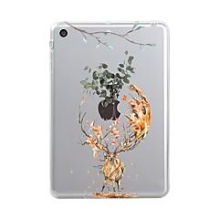 abordables Ofertas de Hoy-Funda Para Apple iPad Mini 4 Mini iPad 3/2/1 iPad 4/3/2 iPad Air 2 iPad Air iPad (2017) Transparente Diseños Funda Trasera Navidad Suave