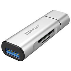 USB 3.0 نوع C محول كابل أوسب كله في 1 1إلى 3 سرعة عالية OTG محول من أجل MacBook Pro ماك بوك 6.8 cm الالومنيوم