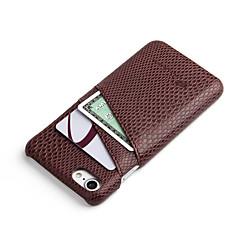 Недорогие Кейсы для iPhone 7-Кейс для Назначение iPhone 7 Plus IPhone 7 Apple iPhone 7 Plus iPhone 7 Бумажник для карт Кейс на заднюю панель Сплошной цвет Твердый ПК
