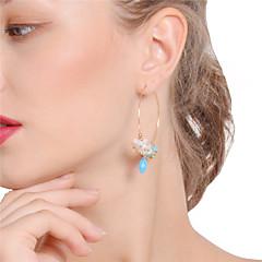 preiswerte Ohrringe-Damen Kristall Tropfen-Ohrringe / Kreolen - Krystall Bling Bling Gold Für Party / Alltag