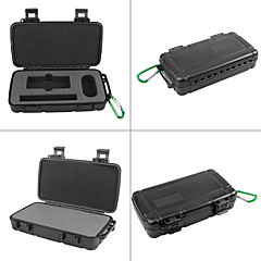 Andoer Portable ABS Waterproof Shockproof Panoramic Camera Case Protective Storage Box Bag for LG 360 Camera and Related Accessories w/ Padded PE Foam