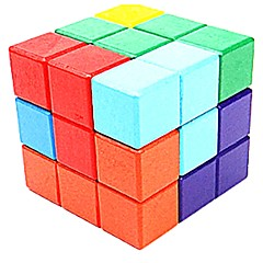 Bouwblokken Montage/demontagepuzzels Vierkant Niet gespecificeerd