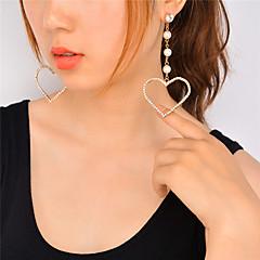 Χαμηλού Κόστους Σκουλαρίκια-Γυναικεία θαυμαστής σκουλαρίκια Απομίμηση Μαργαριτάρι ΣτραςΚρεμαστό Μοντέρνα Λατρευτός Εξατομικευόμενο Euramerican Απομίμηση