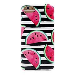 чехол для iphone 7 6 фруктов tpu мягкая ультратонкая задняя крышка чехол iphone 7 плюс 6 6s плюс se 5s 5 5c 4s 4