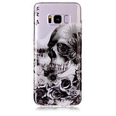tanie Galaxy S6 Edge Etui / Pokrowce-Kılıf Na Samsung Galaxy S8 Plus S8 IMD Przezroczyste Wzór Etui na tył Czaszki Miękkie TPU na S8 S8 Plus S7 edge S7 S6 edge S6 S5