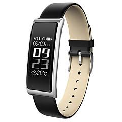 billige Elegante ure-hhy nye c9 smart armbåndsrør hjertefrekvens overvågning besked skubbe vandtæt business sport armbånd android ios
