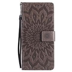 Недорогие Чехлы и кейсы для Galaxy Note 3-Кейс для Назначение SSamsung Galaxy Note 8 Note 5 Бумажник для карт Кошелек со стендом Флип С узором Чехол Мандала Твердый Кожа PU для