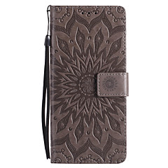 Недорогие Чехлы и кейсы для Galaxy Note 3-Кейс для Назначение SSamsung Galaxy Note 8 / Note 5 Кошелек / Бумажник для карт / со стендом Чехол Мандала Твердый Кожа PU для Note 8 / Note 5 / Note 4