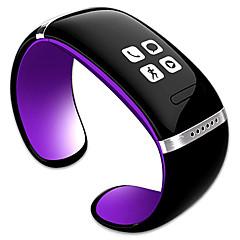 お買い得  メンズ腕時計-トレンディーなスタイルl12s oledブルートゥースブレスレット時計ディスプレイ音楽プレーヤー/アンチロスト機能