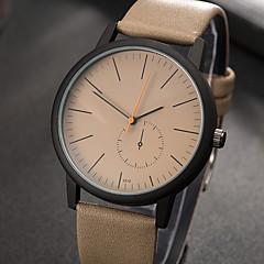 preiswerte Damenuhren-Damen Armbanduhr Quartz Schwarz / Braun / Khaki Kreativ Armbanduhren für den Alltag Cool Analog damas Charme Luxus Freizeit Modisch - Schwarz Braun Khaki
