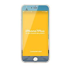 Недорогие Защитные пленки для iPhone 7 Plus-Закаленное стекло Защитная плёнка для экрана для Apple iPhone 7 Plus Защитная пленка на всё устройство Защита от царапин Против
