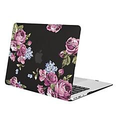 MacBook Kotelo varten MacBook Air 13-tuumainen MacBook Air 11-tuumainen MacBook Pro 13-tuumainen Retina-näytöllä Kukka TPU materiaali