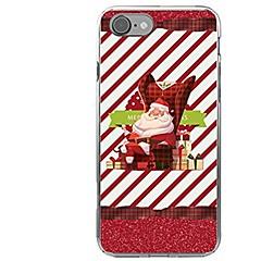 olcso iPhone 5S / SE tokok-Kompatibilitás iPhone X iPhone 8 tokok Minta Hátlap Case Karácsony Puha Hőre lágyuló poliuretán mert Apple iPhone X iPhone 8 Plus iPhone