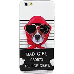 cheap iPhone Cases-For iPhone X iPhone 8 Case Cover Pattern Back Cover Case Dog Word / Phrase Soft TPU for Apple iPhone X iPhone 8 Plus iPhone 8 iPhone 7
