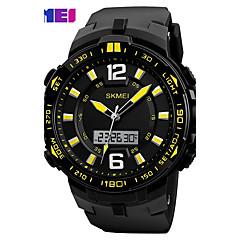 SKMEI Men's Sport Watch Digital Watch Fashion Watch Wrist watch Digital PU Band Black