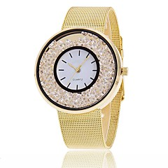 cheap Bracelet Watches-Women's Quartz Bracelet Watch Chinese Chronograph / Water Resistant / Water Proof Alloy Band Charm / Sparkle / Casual / Elegant / Fashion