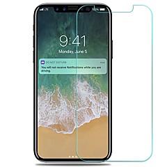 Недорогие Защитные пленки для iPhone X-Защитная плёнка для экрана Apple для iPhone X Закаленное стекло 1 ед. Защитная пленка для экрана Защита от царапин Взрывозащищенный HD