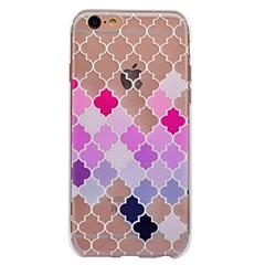 Назначение iPhone X iPhone 8 Чехлы панели С узором Задняя крышка Кейс для Геометрический рисунок Мягкий Термопластик для Apple iPhone X