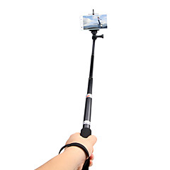 cheap Selfie Sticks-Andoer Portable Handheld Extendable Telescopic Monopod Selfie Stick Aluminum Alloy for Feiyu WG Stabilizer GoPro Hero 2/3/3/4 SJCAM SJ4000 SJ5000