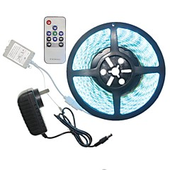 5M 300x5050LED Strip Light Sets  No Waterproof RGB 10 key controller AC100-240V AU / EU / US / UK Power Plug  DC12V 2A