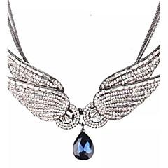 رخيصةأون -للمرأة غير منتظم مخصص كلاسيكي القلائد بيان الماس الاصطناعية زركون سبيكة القلائد بيان ، زفاف حزب