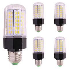 preiswerte LED-Birnen-5pcs 9W 850 lm LED Mais-Birnen E27 / E14 112 Leds SMD 5730 Warmes Weiß Kühles Weiß AC85-265