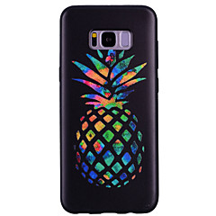 billige Galaxy S6 Edge Etuier-Etui Til Samsung Galaxy S8 Plus S8 Mønster Bagcover Frugt Blødt TPU for S8 Plus S8 S7 edge S7 S6 edge S6