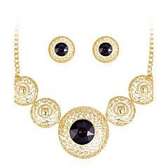 cheap Women's Jewelry-Women's Stud Earrings Necklace Crystal Rhinestone Crystal Rhinestone Drop Luxury Fashion Party Earrings Necklaces Costume Jewelry