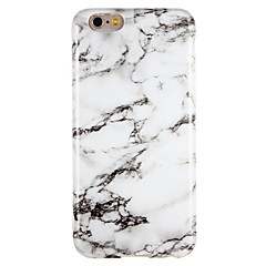cheap iPhone Cases-Case For Apple iPhone 7 iPhone 7 Plus Shockproof IMD Back Cover Marble Soft TPU for iPhone 7 Plus iPhone 7 iPhone 6s Plus iPhone 6 Plus