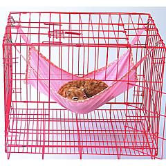 고양이 침대 애완동물 라이너 솔리드 통기성 그린 블루 핑크