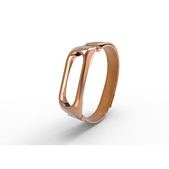 Milanese Stainless Steel Strap for Xiaomi Miband 2-rose gold