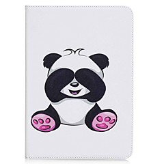 cheap Tablet Cases-Case For Samsung Galaxy Tab A 9.7 Full Body Cases Tablet Cases Panda Hard PU Leather for