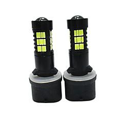 preiswerte Autozubehör-2pcs 880/884 Auto Leuchtbirnen SMD LED- 6000lm Nebelscheinwerfer For Universal Alle Modelle Alle Jahre