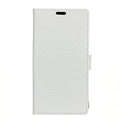 Etui Käyttötarkoitus Huawei Y5 II / Honor 5 Y3 (2017) Lomapkko Korttikotelo Tuella Flip Kokonaan peittävä Yhtenäinen väri Kova PU-nahka