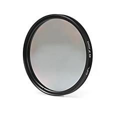nikon canon sony dslrカメラ用67mm cplフィルターレンズ - 黒