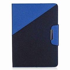 お買い得  タブレット用ケース-ケース 用途 Samsung Galaxy タブ9.7 フルボディーケース タブレットケース カラーブロック 風景 ハード PUレザー のために