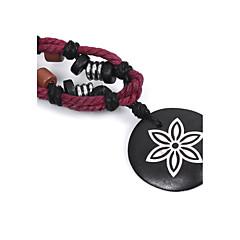 preiswerte Halsketten-Herrn / Damen Amethyst Halsketten / Anhängerketten - Blume Schwarz Modische Halsketten Für Strasse, Ausgehen
