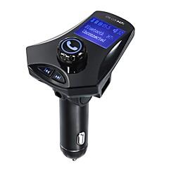 Недорогие Bluetooth гарнитуры для авто-m7s fm передатчик bluetooth fm передатчик аудио автомобиль mp3-плеер громкой связи tf слот для карты и зарядное устройство usb
