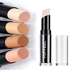 1kpl piilottaa viat pro pitkäikäinen kasvojen kasvot hoito contour peitevoide keppi meikki pohja kosteus ihon whiten