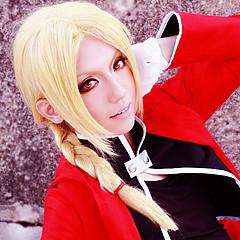 Szerepjáték Parókák Fullmetal Alchemist Edward Elric Sárga Közepes Anime Szerepjáték parókák 45 CM Hőálló rost Férfi